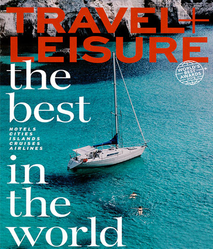 Travel + Leisure World's Best Awards 2018
