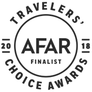 AFAR Travelers Choice Awards 2018